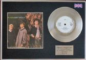 "A-HA  - 7"" Platinum Disc + cover - CRY WOLF"